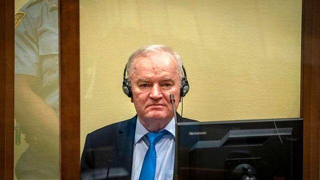 حکم حبس ابد برای «قصاب بوسنی» در دیوان لاهه تایید شد