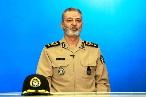 پیام فرمانده کل ارتش به رییس صداوسیما