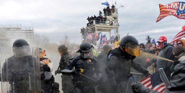 افشای جزییاتی تازه از روز حمله به کنگره آمریکا