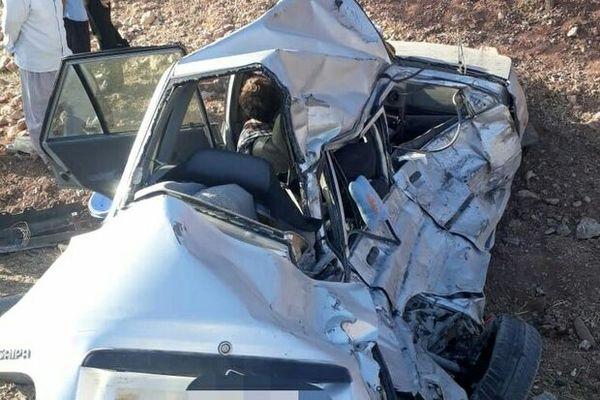 تصادف وحشتناک در زنجان 4کشته برجای گذاشت