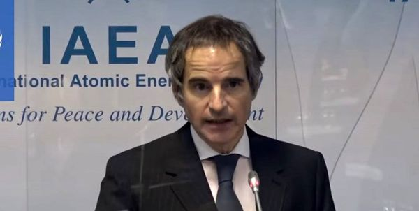 خبر گروسی از برنامهریزی برای یک جلسه فنی با ایران در ماه آینده