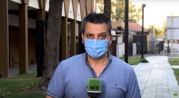 بازداشت خبرنگار آر تی توسط نیروهای امنیتی عراق