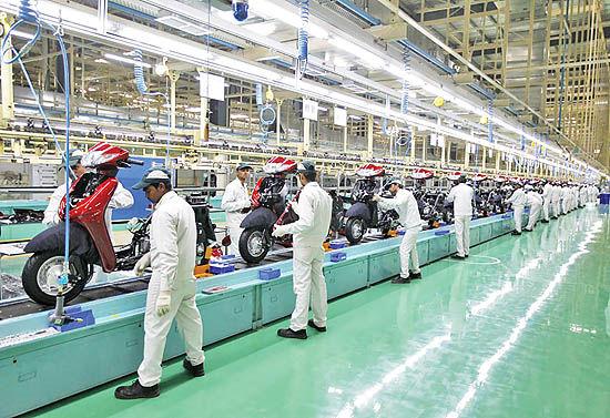 ساخت موتورسیکلتهای برقی تندرو در شرکت هندی