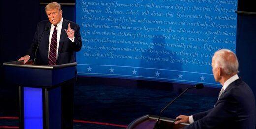 ترامپ فساد پسر بایدن را فاجعه بزرگ برای رقیبش خواند