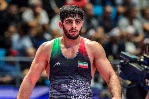 سومین کشتیگیر ایرانی نیز به یک چهارم نهایی رسید