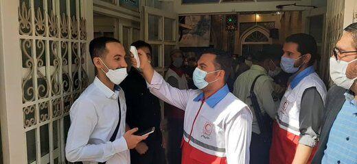 از کیک سیاسی برای انتخابات ۱۴۰۰ تا رای دادن عروس و داماد یزدی+عکس