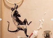 حضور موشها در نقاشی جدید بنکسی