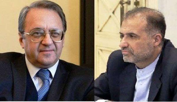 گفتگوی ایران و روسیه درباره مسائل منطقه خاورمیانه