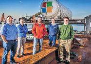 مرکز داده جدید مایکروسافت در اقیانوس