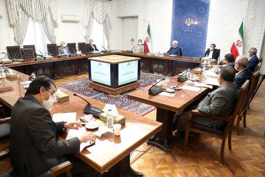 روحانی: شوک بازار ارز ریشه اقتصادی ندارد/ باید تعادل به بازار برگردد