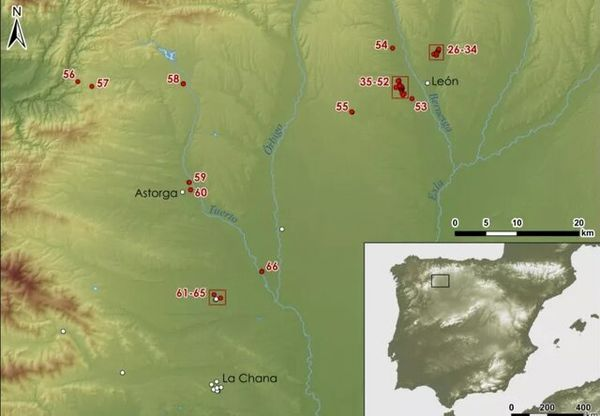 کشف بقایای دهها کمپ نظامی رومی در اسپانیا