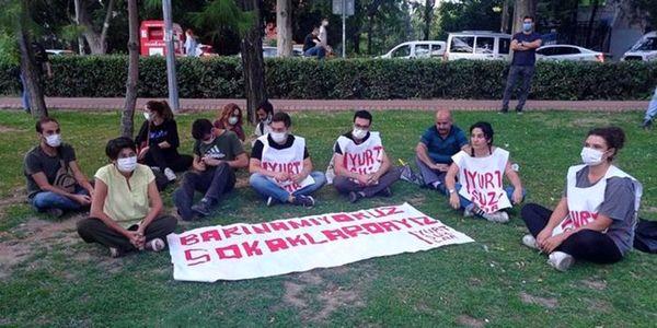 اعتراض دانشجویان ترکیه به گرانی هزینههای خوابگاه