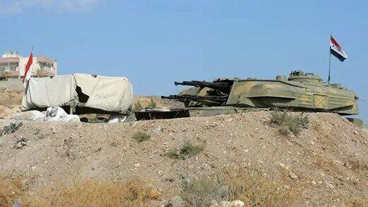 سرنگونی دو موشک اسرائیل در سوریه