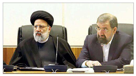 تیم اقتصادی رئیسی با دو فرمانده/ محسن رضایی باعث اختلاف در کابینه می شود؟