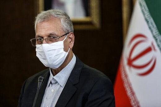 اقدام جالب سخنگوی دولت در نخسین روز طرح ماسک اجباری+عکس