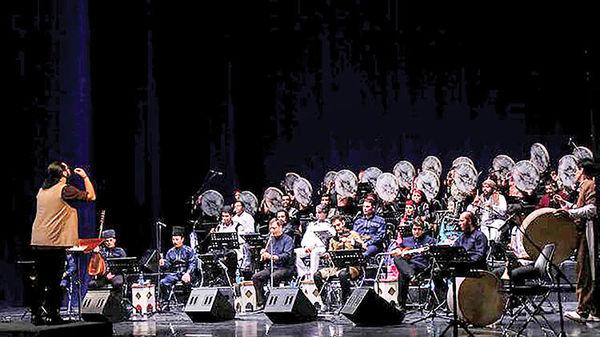 کنسرت موسیقی اقوام با ۶۰ نوازنده در تالار وحدت