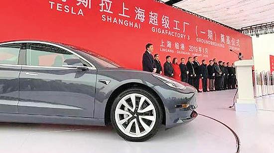 مجوز خودروسازی چینیها به تسلا
