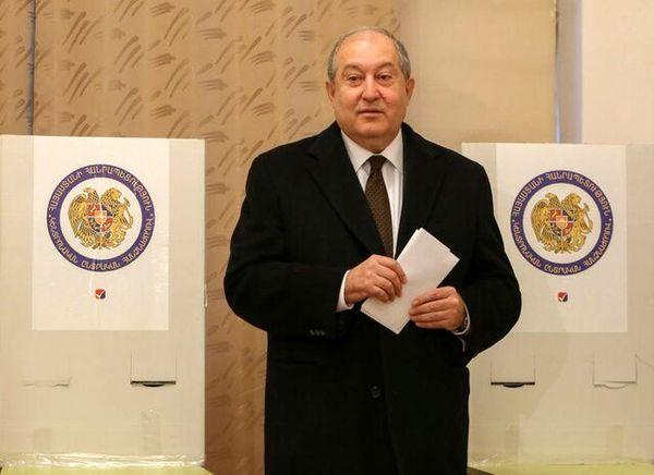 رئیسجمهوری ارمنستان پرونده قرهباغ را به بروکسل میبرد