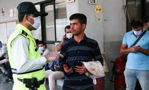 برخورد پلیس از امروز با کسانی که ماسک نمیزنند