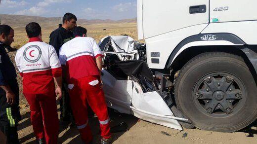 تصادف مرگبار در جنوب تهران