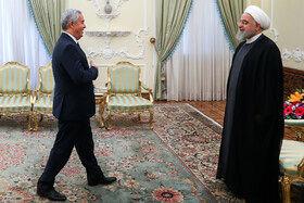تقدیم استوارنامه سفیر جدید تاجیکستان به رییسجمهوری