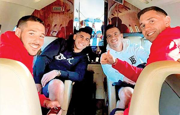 احتمال قرنطینه بازیکنان آرژانتین