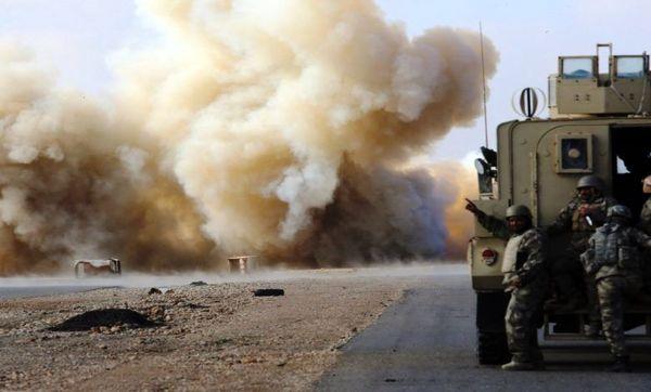 حمله به دو کاروان نظامی آمریکایی در عراق