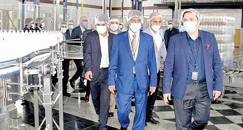 تامین لبنیات عراق توسط کارخانه میهن