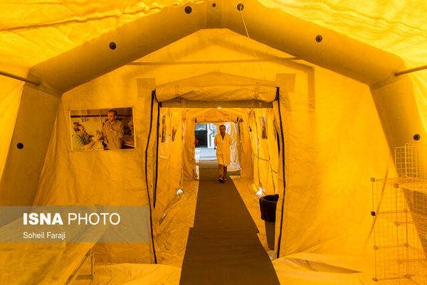 آمادگی ستاد کل نیروهای مسلح برای برپایی بیمارستانهای صحرایی