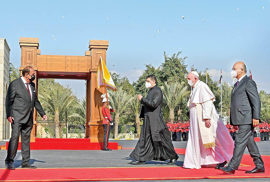 سفر تاریخی پاپ به عراق