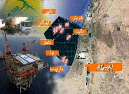 نگرانی اسرائیل از  هدف قرار گرفتن میادین نفتیاش توسط حزبالله لبنان