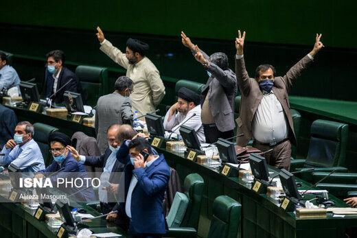 درگوشی های نمایندگان با وزرای پیشنهادی/قالیباف عصبانی شد، نمایندگان سکوت کردند