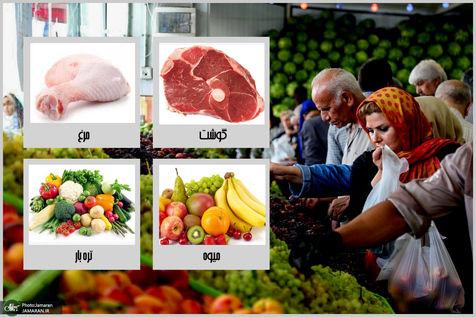 قیمت جدید انواع میوه و سبزیجات در میادین + جدول
