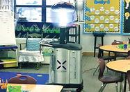 روبات مخصوص میکروبها را در مدارس نابود میکند