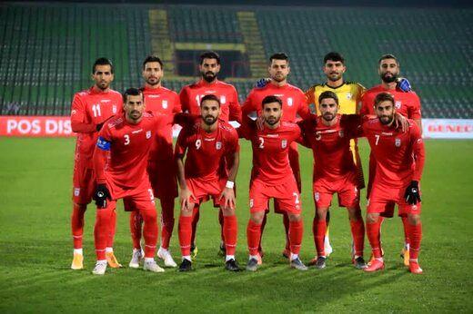تیم ملی ایران بدون تغییر در رده 29 جهان ماند