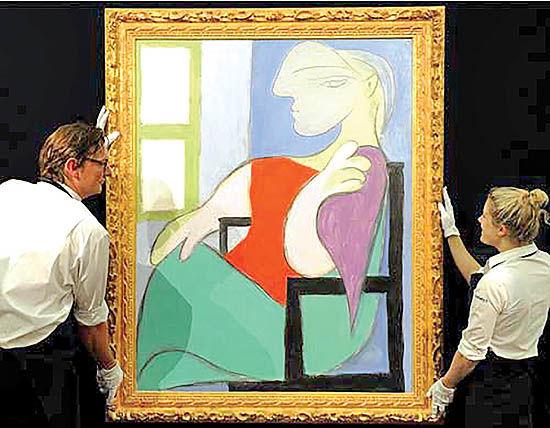 فروش 103 میلیون دلاری  اثر پیکاسو