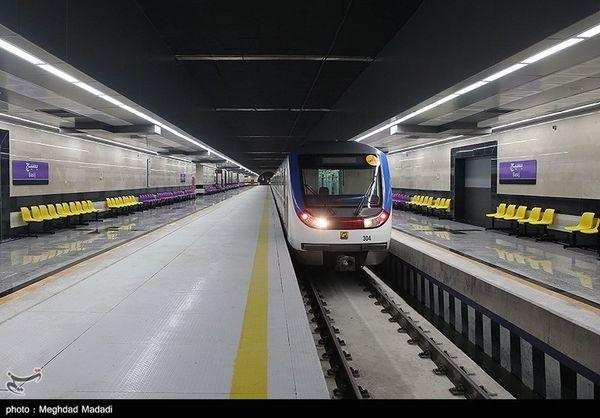 خط شش متروی تهران ۱۰ و ۱۷ بهمن سرویس دهی ندارد