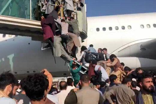 تیراندازی در فرودگاه کابل/ اجسادی که به حال خود رها شدهاند
