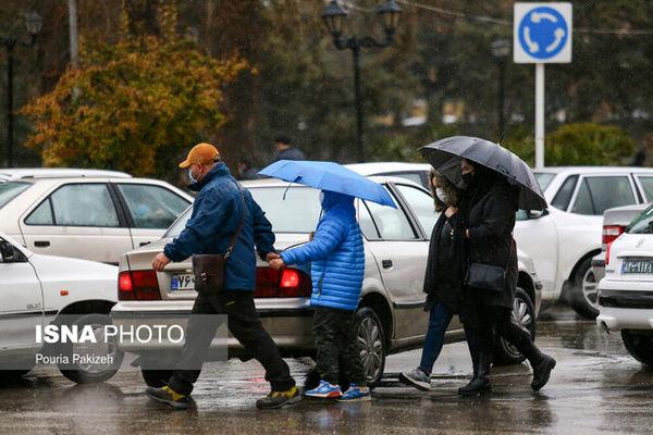 هشدار نسبت به بارش باران و وزش باد شدید در کشور