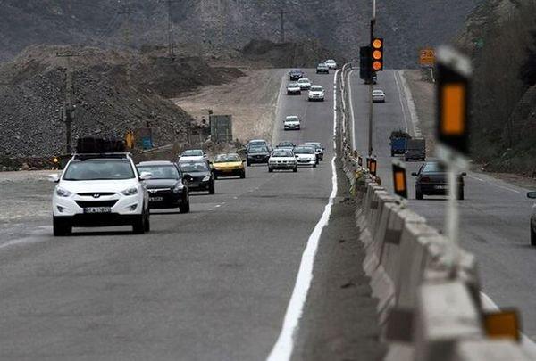 ترافیک سنگین در محور کندوان