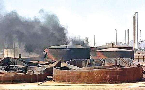 حمله به پایانه نفتی جزیره خارک