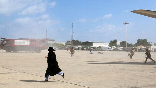 وقوع انفجار در نزدیکی کاخ محل حضور اعضای دولت مستعفی یمن