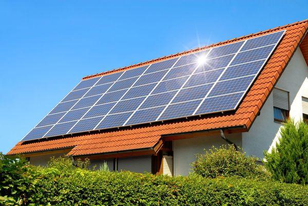 برق رفتگی و انرژی خورشیدی