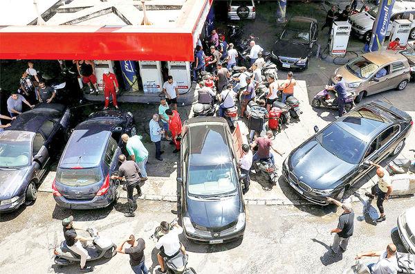 بزرگترین بحران سوخت در لبنان