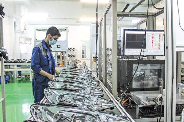 ایجاد ظرفیت تولید روزانه 6 هزار چراغ خودرو