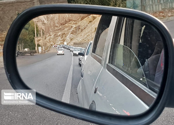 وضعیت تردد در محورهای اصلی کشور