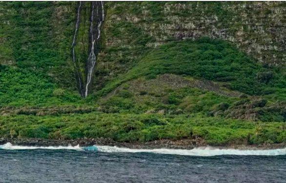 آبشار اولو اوپینا، هاوایی