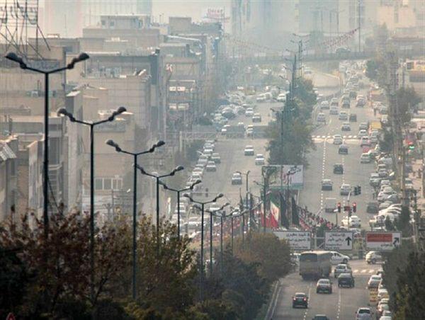 کیفیت هوای تهران در شرایط قابل قبول است