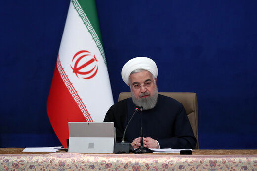 روحانی: شبی نبوده با خیال آسوده سر به بالین بگذارم