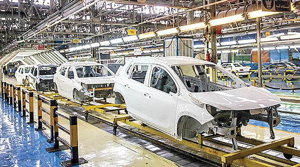 رالی زیاندهی در زنجیره خودروسازی